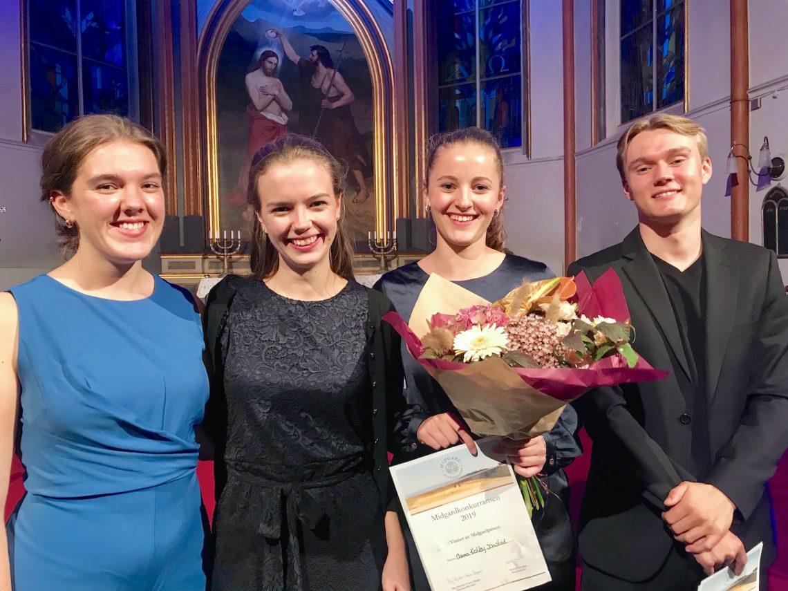 Kvartett Momentum: Vinnere av Midgardprisen 2019